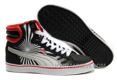 http://www.jordannew.com/mens-puma-new-first-round-in-blackwhitered-for-sale.html MENS PUMA NEW FIRST ROUND IN BLACK-WHITE-RED CHEAP TO BUY Only $88.00 , Free Shipping!