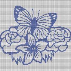 Watch The Video Splendid Crochet a Puff Flower Ideas. Phenomenal Crochet a Puff Flower Ideas. Crochet Puff Flower, Crochet Flower Patterns, Crochet Flowers, Butterfly Cross Stitch, Cross Stitch Flowers, Afghan Crochet Patterns, Cross Stitch Patterns, Broderie Bargello, Giraffe Crochet