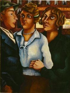 Charley Toorop - Drie figuren, 1926. Stedelijk Museum Amsterdam