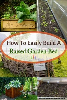 Easily Build An Amazing Raised Garden Bed   How To Plans Included