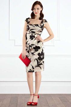 Vintage-style dresses with floral patterns_Dresses(d)_DESIGNER_Voguec Shop