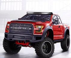 2017 Ford Raptor // Pretty truck, unfortunate that its a Ford Jacked Up Trucks, Custom Trucks, Cool Trucks, Pickup Trucks, Cool Cars, Farm Trucks, Jeep Pickup, Diesel Trucks, Ford 2000
