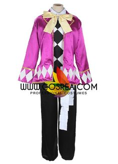Black Butler Joker Satin Cosplay Costume