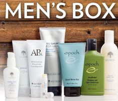 For all the men in your life. Or just for you x Ap 24 Whitening Toothpaste, Whitening Fluoride Toothpaste, Skin Whitening, Nu Skin, Glacial Marine Mud, Acne Facial, Shaving Cream, Body Wash, Face Wash
