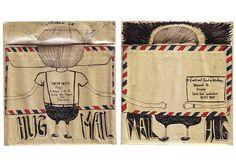 Mail art submission by Nadya Saskia, via Flickr