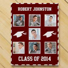 High School Graduation Custom Photo Template Countdown Calendars