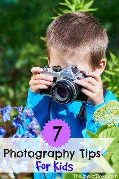 7 Photography Tips for Kids from National Geographic Photographer Annie Griffiths. Tips and tricks for how your child can become a great…