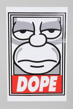 The Simpsons – Dope / by Shepard Fairey