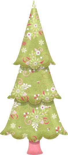 whimsical christmas tree clip art free - photo #36