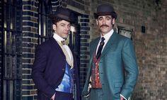 Michael Weston and Stephen Mangain in Houdini & Doyle