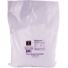 NuNaturals, Pure Erythritol Crystals, 5 lbs... iHerb.com has a great price for this bag. And the blog healthyindulgences.net tells how to mix this with Nustevia pure white stevia extract powder to get a great tasting healthy sweetner