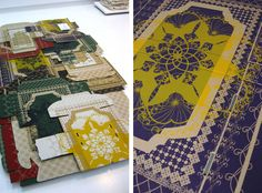 Wendy Plomp - cardboard rugs