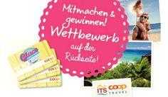 Gewinne mit Coop und ein wenig Glück einen Reisegutschein von ITS Coop Travel https://www.alle-schweizer-wettbewerbe.ch/gewinne-reisegutschein-im-wert-von-chf-2000/