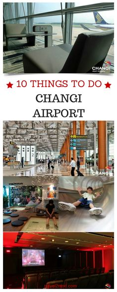 10 things to do in Changi Airport. Flying through Singapore and have a few hours to spare in Changi Airport?