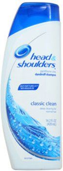 Unisex Head and Shoulders Classic Clean for Normal Hair Pyrithione Zinc Dandruff Shampoo 1 pcs sku- 1790215MA * Read more reviews of the product by visiting the link on the image.