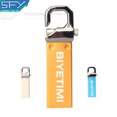 BiYetimi USB Flash Drive 64GB Metal colorful Pendrive High Speed USB Stick 32GB Pen Drive 16GB Memory Usb Stick