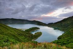 Lagoa do Fogo - Lagoa do Fogo São Miguel Island, Azores - Portugal Nikon D800…