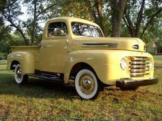 Yellow beauty, love these trucks!!