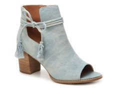 Women's Women Alana Bootie -Light blue Denim - Light blue Denim