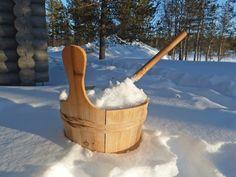 Sauna bucket – Saunaflow blog Sauna Shower, Portable Sauna, Birches, Saunas, Project Ideas, Projects, Home Spa, Illustrations, Painted Doors