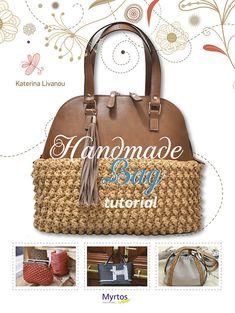 Handmade Bag Tutorial, English Edition, Bag Making Book, Crochet Bag and Plastic Canvas Bag Patterns, Multiple Bag Designs, Craft Book