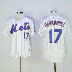 da71be45e84 MLB New New York Mets Jersey Mens 4 Wilmer Flores White with Stripes Cool  Base Basball