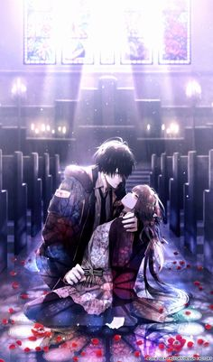 New post on anime-manga-forever-otaku Couple Anime Manga, Girls Anime, Anime Love Couple, Cute Anime Couples, Anime Amor, Anime Cupples, Fanarts Anime, Anime Characters, Desenhos Love