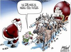 Santa Claus gets screwed by the EPA