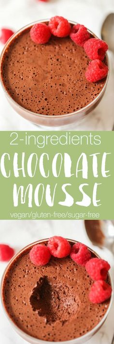 This Mousse au Chocolate is so easy to make with just 2 ingredients and so delicious. Heavenly soft and fluffy.