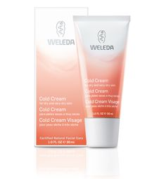 Cold Cream - For dry and very-dry skin