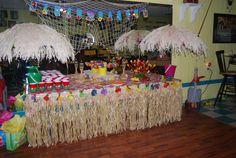 Luau, beach themed party,