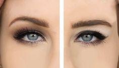 Makeup Tips Makeup eyeliner hacks for people with hooded eyes Eyeliner Hacks, Eye Makeup Tips, Skin Makeup, Makeup Ideas, Makeup Tricks, Makeup Designs, Beauty Make-up, Beauty Hacks, Beauty Tips