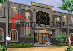 Jasa Arsitek Pangkalpinang: Jasa Arsitek di Pangkalpinang - Homestay Klasik Me. Mansions, House Styles, Design, Home Decor, Decoration Home, Manor Houses, Room Decor, Villas