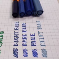 Comparisons: Stabilo 88′s vs Staedtler Fineliners | Calvin Was Right Top 2 stabilo Bottom 2 staedtler