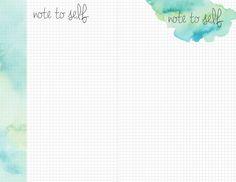 teal watercolor printable grid sheets