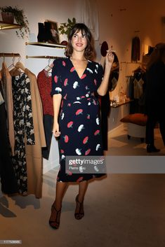 """Actress Jeanne Damas attends the """"Rouje"""" Boutique Opening In Paris as...- Getty Images"""