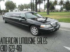 2007 LINCOLN Town Car Black 120-inch 10 Pass. Limousine #1051 - $38995   Visit our website at: Americanlimousinesales.com