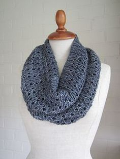 A cowl for all seasons : worked in the round and reversible.
