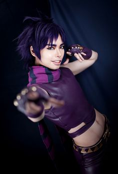 yuliya yip(蕊。Yui) Joseph Joestar Cosplay Photo - WorldCosplay