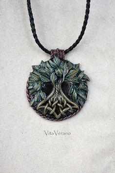 Yggdrasil jewelry Tree Of Life necklace Yggdrasil by VitaVerano