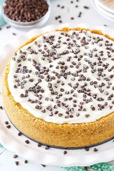 This post is sponsored by Galbani Italian Cheese, but all opinions are my own. This Cannoli Cheesecake is made with a mix of ricotta and mascarpone cheese for a cheesecake that truly tastes like the classic Italian dessert – with a cheesecake twist! It has a touch of cinnamon and mini chocolate chips for a …