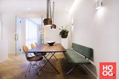Moderne eettafel met stoelen | eetkamer design | dining room | dining room design ideas | Hoog.design
