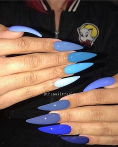 Best Nail Art - 35 Amazing Nails for 2019 Are you looking for the Best Nail Art? Today we have some of the best nail art featuring 35 amazing nails for Stiletto Nail Art, Cute Acrylic Nails, Acrylic Nail Designs, Coffin Nails, Orange Acrylic Nails, Colorful Nail Designs, Dope Nails, Fun Nails, Acryl Nails