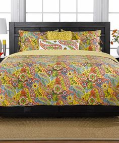 Another great find on #zulily! Colonial Floral Paisley Bedding Set by Ivy Hill Home #zulilyfinds