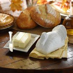 White Turkey Ceramic Butter Dish | Kirklands