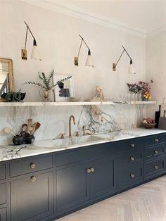 Small Home Interior 3187 - Location Department Open Kitchen, Kitchen Dining, Kitchen Modern, Kitchen Ideas, Rustic Kitchen Design, Boho Home, Cuisines Design, Architectural Digest, Home Design