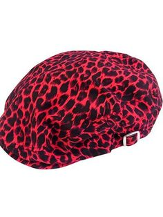 Leopard Pattern Flat Cap. Available at: http://www.cdjapan.co.jp/apparel/new_arrival.html?brand=SLV