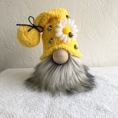 Your place to buy and sell all things handmade Sock Crafts, Bee Crafts, Diy Crafts For Kids, Sewing Crafts, Arts And Crafts, Christmas Gnome, Christmas Crafts, Scandinavian Gnomes, Craft Gifts