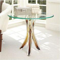 Glass Tusk Table - Global Views