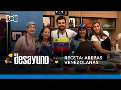 Receta: arepas venezolanas | El Desayuno - YouTube Chefs, Youtube, Self, Venezuelan Women, Breakfast, Cook, Youtubers, Youtube Movies